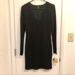 Forever 21 Metallic Knit Dress (LBD!)
